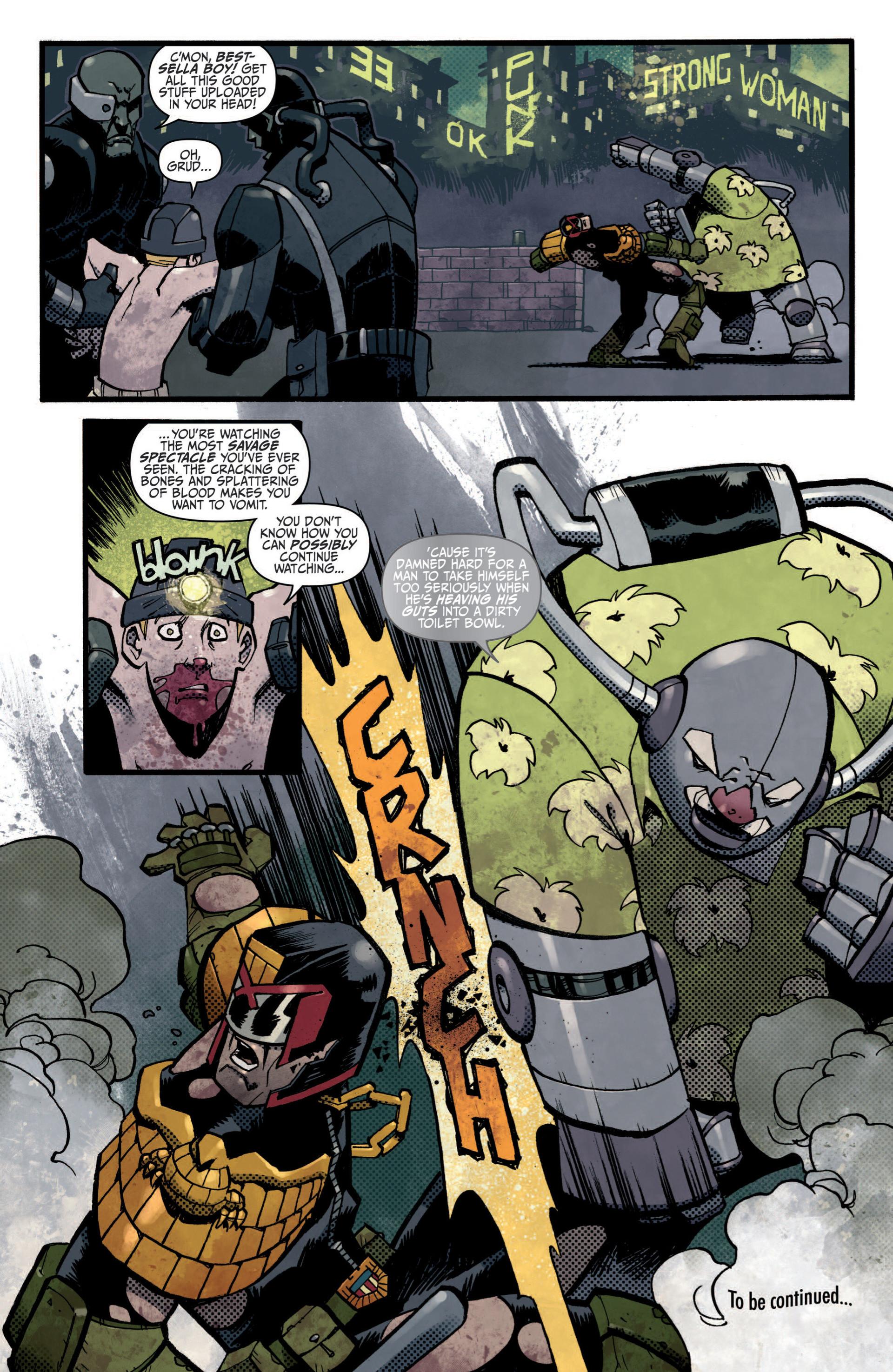 Read online Judge Dredd (2012) comic -  Issue #5 - 18
