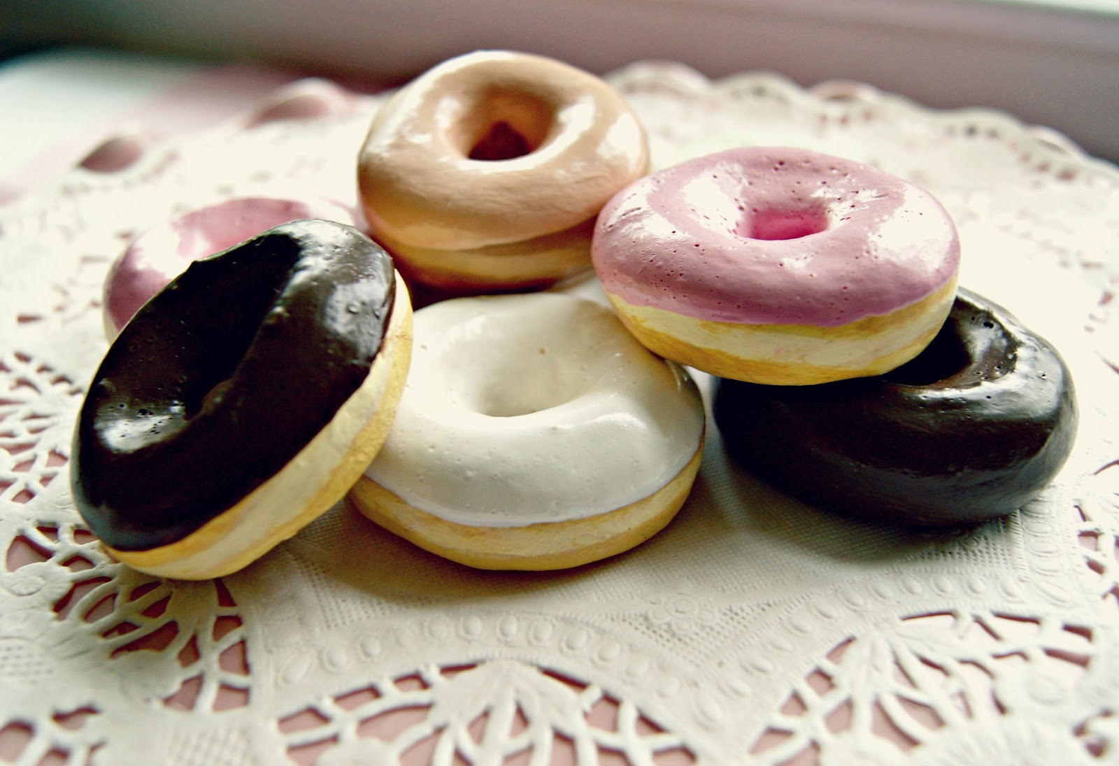 Image result for life sized donuts out of clay