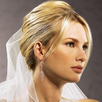 Peinados novia cara alargada