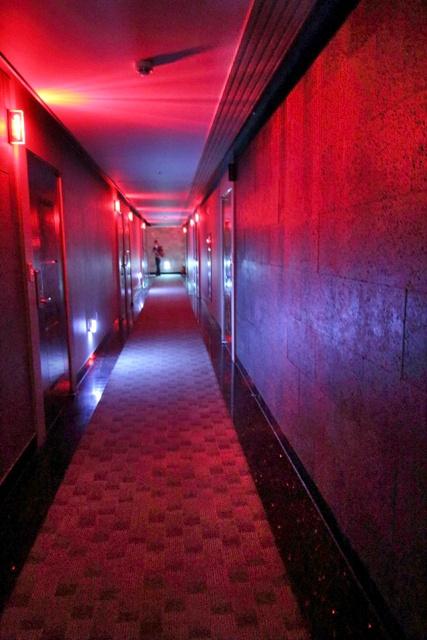 Pasillo del Love Hotel