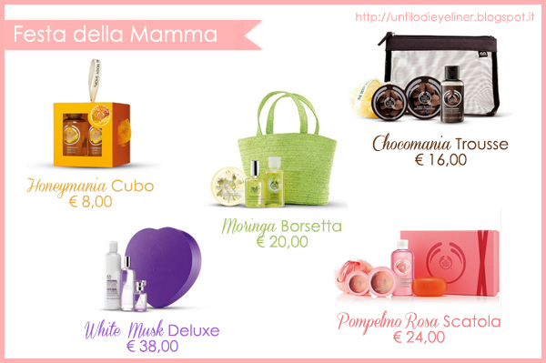Idee Regalo: Festa della Mamma The Body Shop