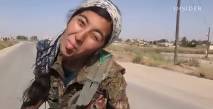 Kurdish female fighters give nightmares to ISIS terrorists