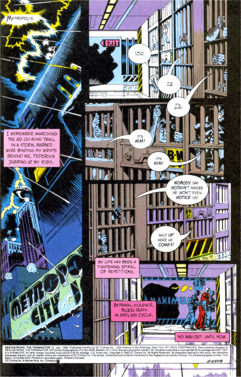 Deathstroke (1991) Issue #12 #17 - English 2