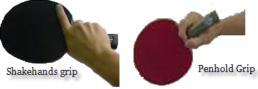 Teknik memegang bet ada dua macam, yaitu: