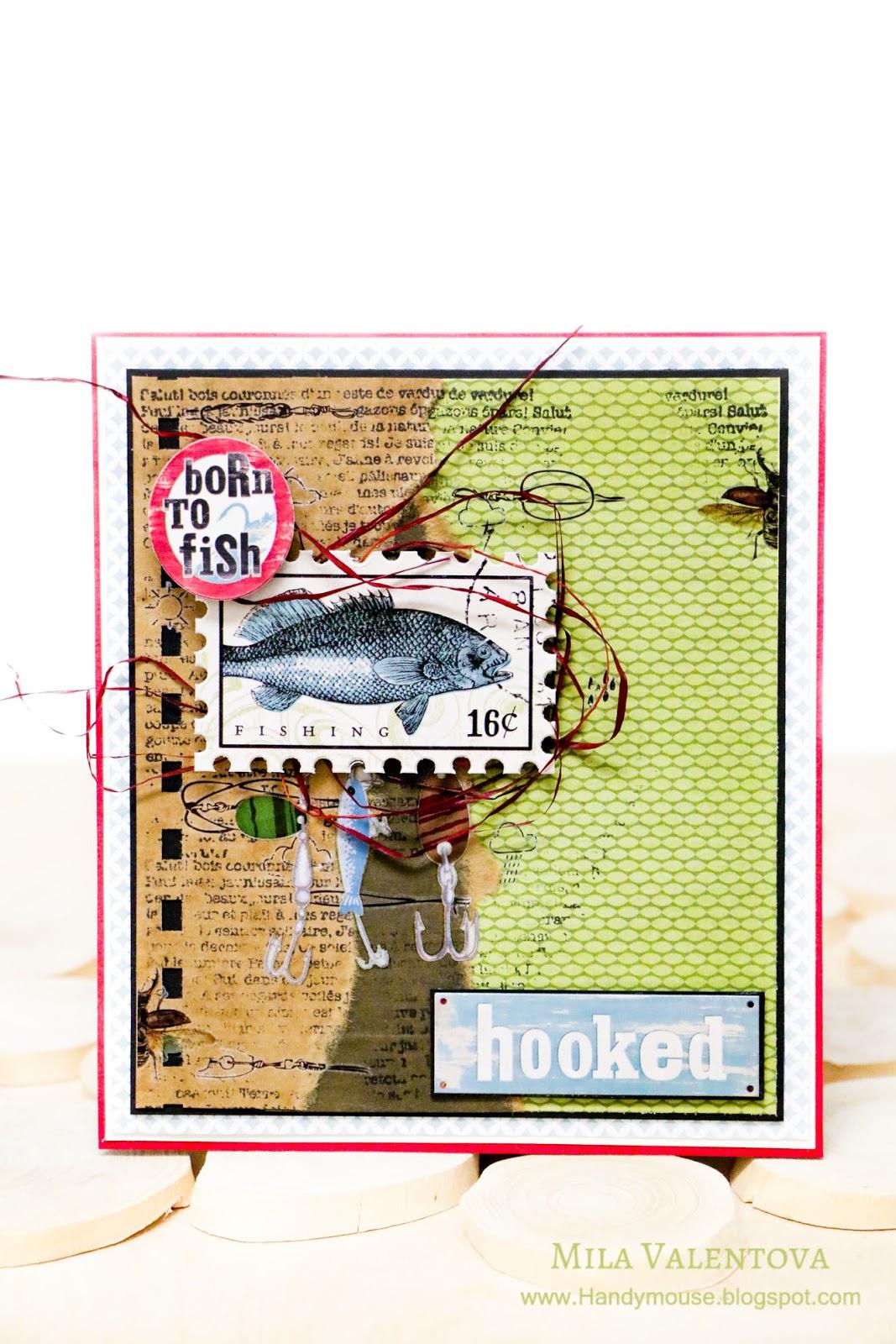 Открытки ручной для рыбака 37