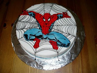 Spiderman Cakes for Children Parties