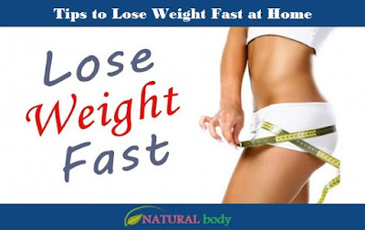 Tips to Lose Weight Fast at Home