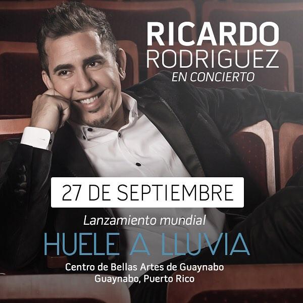 Ricardo Rodriguez Huele A Lluvia Letra