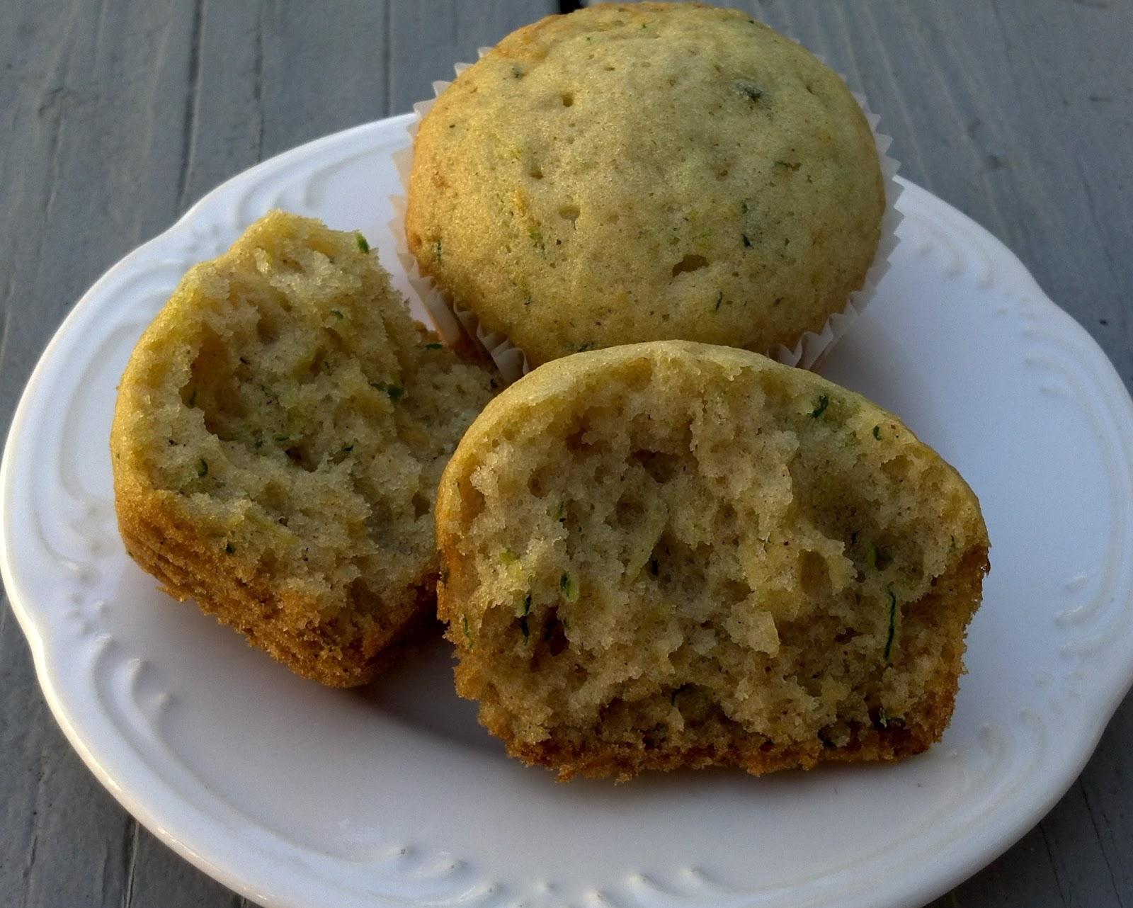 Zucchini Spice Muffins (or Carrot Spice Muffins)