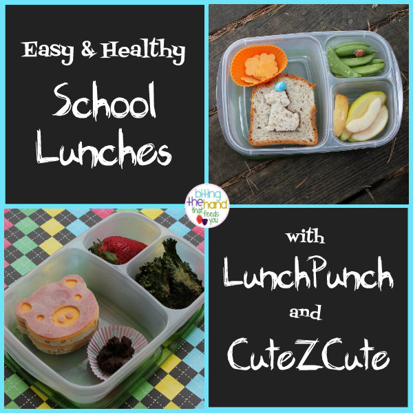 Biting the hand that feeds you easy and healthy school lunches made both of these lunches were quick and easy to make and are balanced with all five food groups packed in our easylunchboxes since theyre quick and easy to forumfinder Gallery
