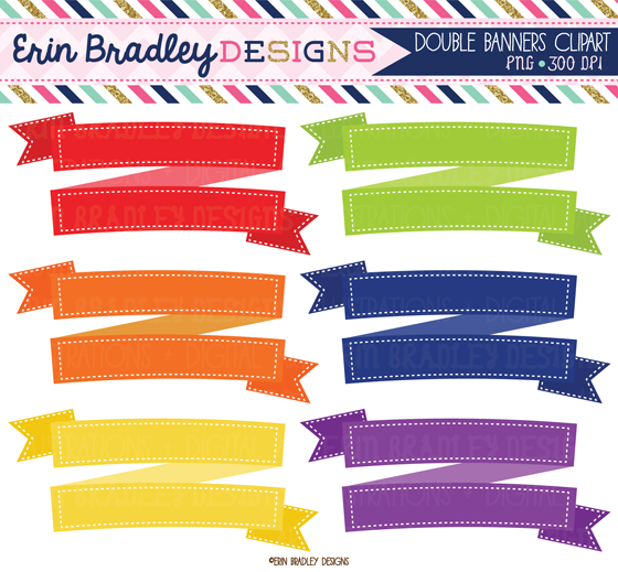 Erin bradley designs new banner text frame clipart graphics - Text banner design ...