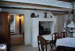 Köket i 1700tals huset vårt gästhus