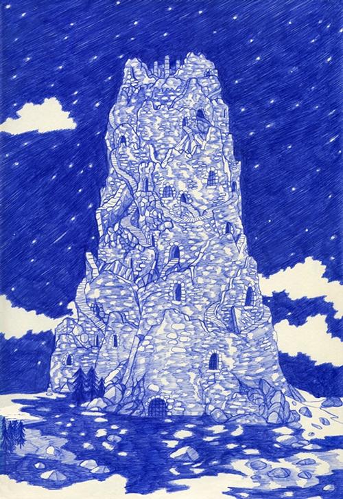 10-La-Tour-Kevin-Lucbert-Ballpoint-Biro-Pen-Drawings-www-designstack-co