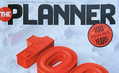 October 2014 The Planner - the business monthly for neoliberal planners