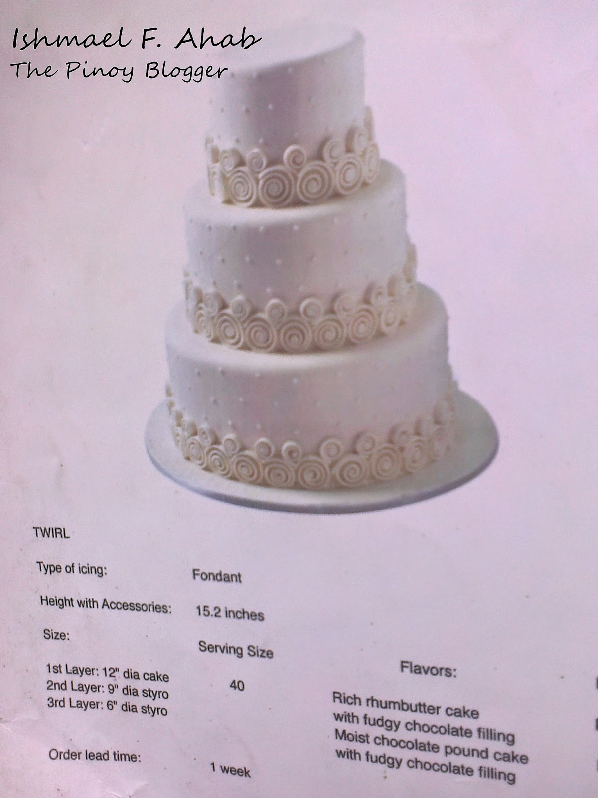 wedding cakes pictures and prices philippines