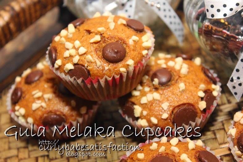 gula melaka cupcakes