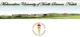 MUHS Nashik 2013 Exam Timetable BHMA, BUMS, MBBS, BDS