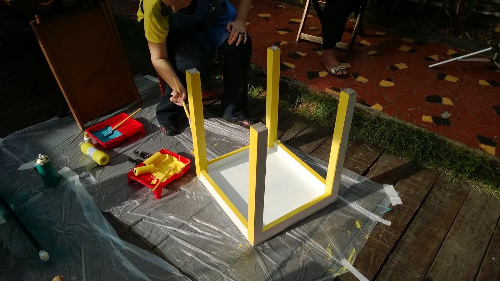 esmalte à base de água - oficina Mão na Massa - blog Casa de Colorir