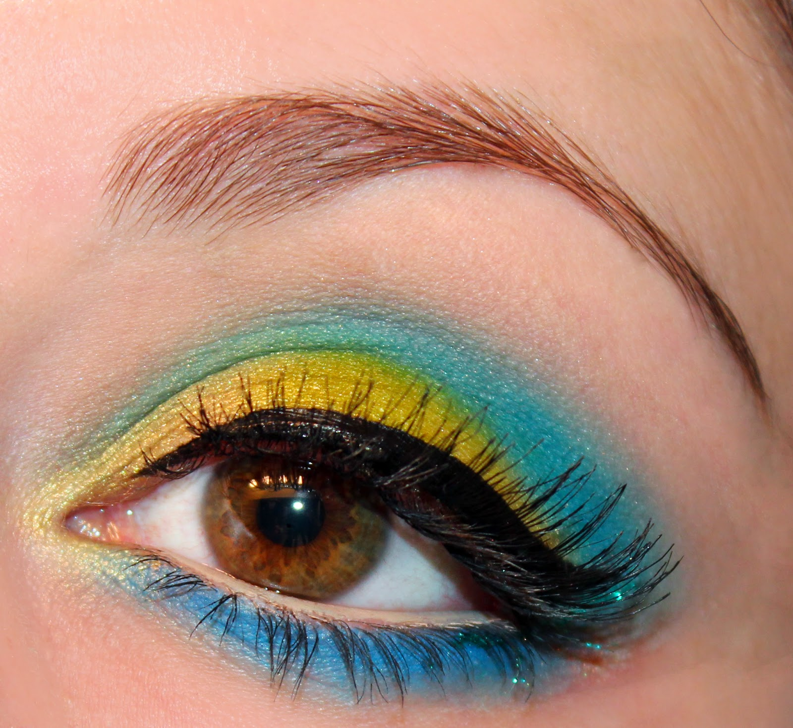 Luhivys Favorite Things Spring Turquoise And Blue Eye Makeup