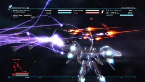 Gameplay Strike Suit Zero: Director's Cut
