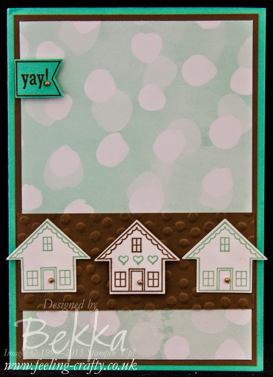 You Brighten My Day New Home Card - get the details here