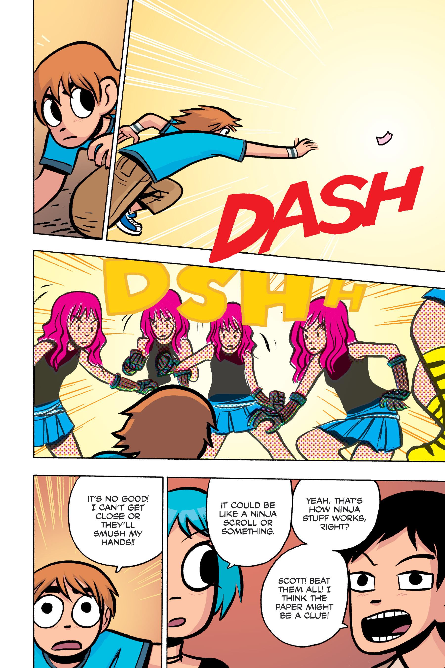 Read online Scott Pilgrim comic -  Issue #3 - 190
