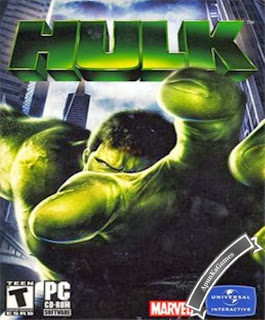 Hulk Game Cover, Poster