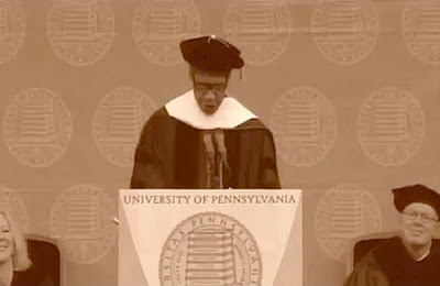 UPenn and Denzel Washington and Commencement