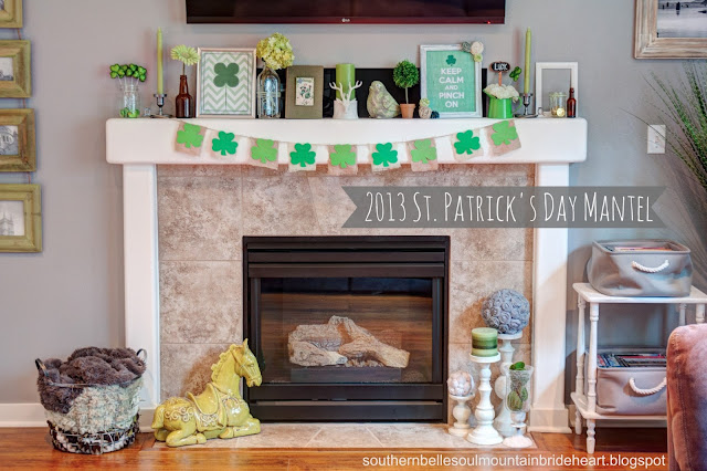 MG 7682 1 3 1 4 1 fused+copy *Dont* Kiss Me, Im only a *1/4* Irish (DIY St Patricks Day Mantel)