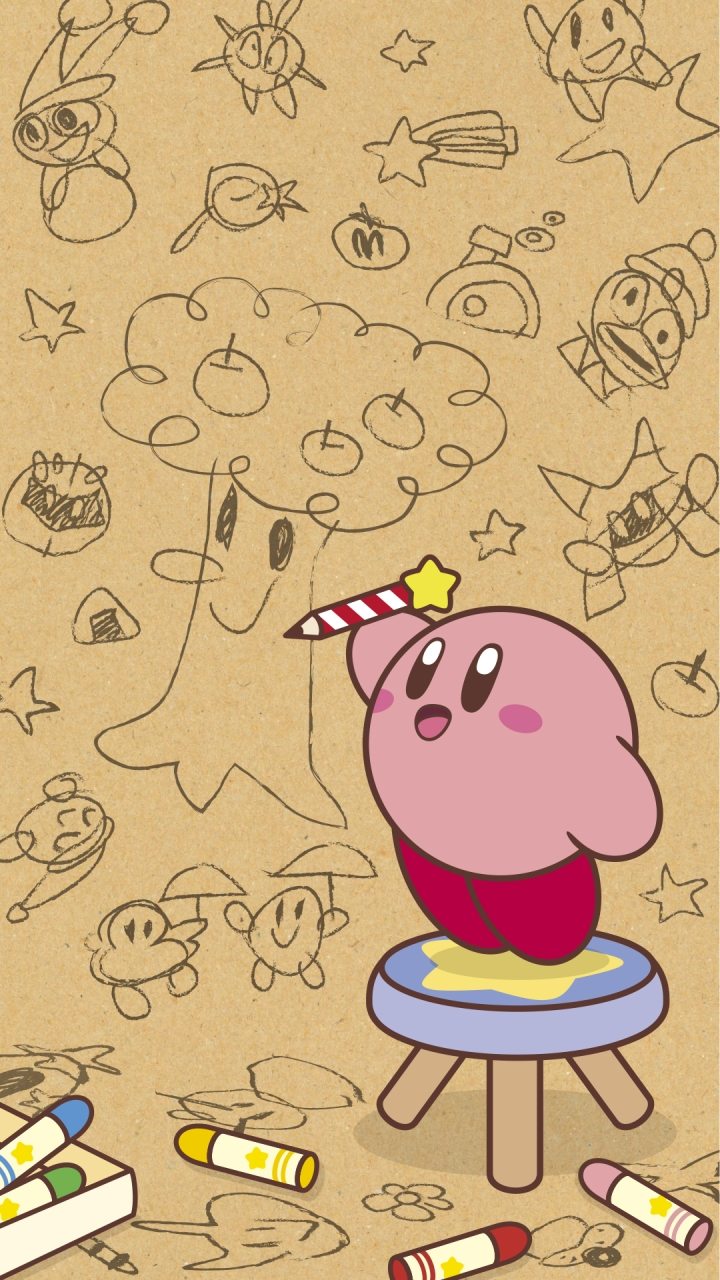 PSA You Should Get These Kirby LINE Phone Backgrounds