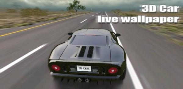 3D Car Live Wallpaper v1 3   apk   Jasim Awf