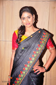 Actress Maneesha Photos in Saree-thumbnail-7