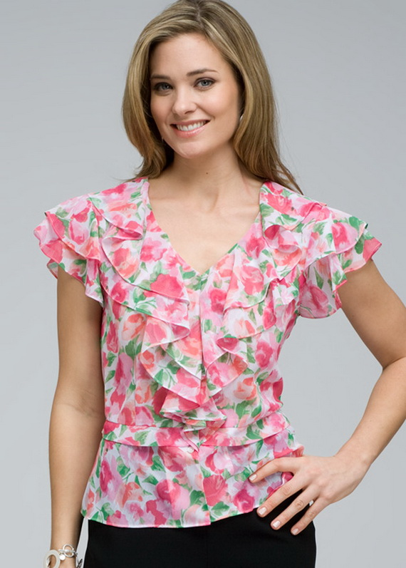 Women'S Summer Blouses 110