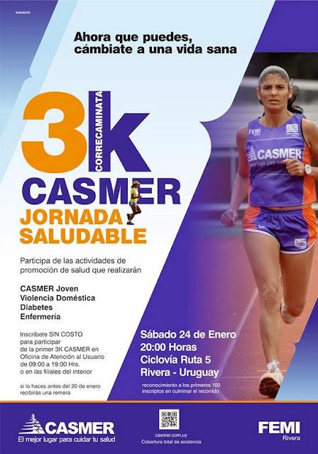 3k correcaminata Casmer (Rivera, 24/ene/2015)