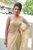 Madhu Shalini sizzling in saree-thumbnail-13