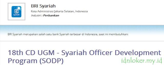 lowongan kerja bank bri syariah agustus 2015