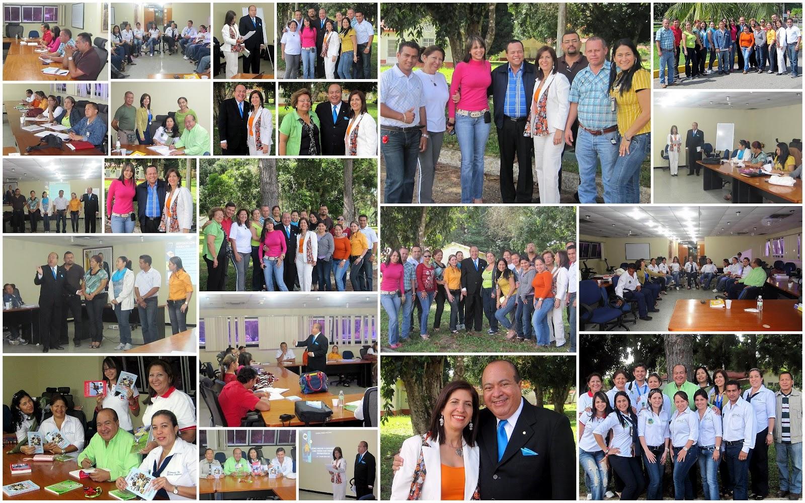 en jornada de dos dias cursantes de la cohorte 2010 del programa de