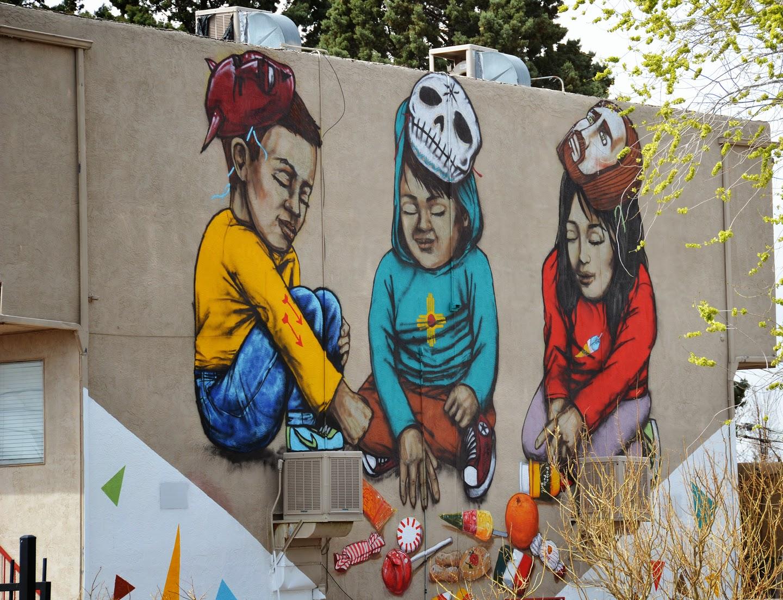 Heidi Utz, Heidi Utz Photography, Albuquerque murals, Albuquerque war zone, albuquerque children