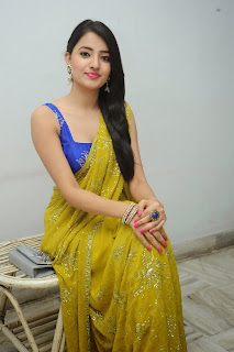 Ruksha Meer sizzling in saree 022.JPG