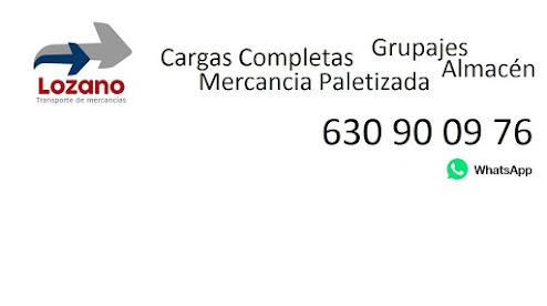 Transportes de Mercancías Lozano Grupajes Cargas Completas Ciudad Real