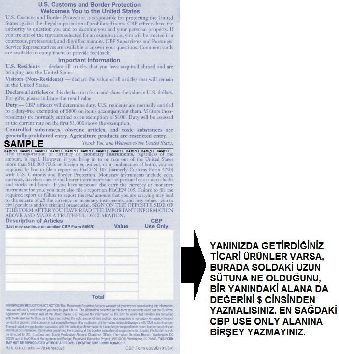 us customs declaration form 6059b pdf