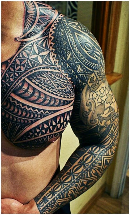 tattoo spr che polynesische tattoos. Black Bedroom Furniture Sets. Home Design Ideas