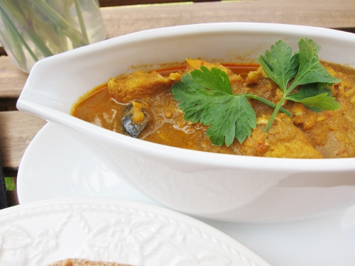 Frozen chicken curry recipe