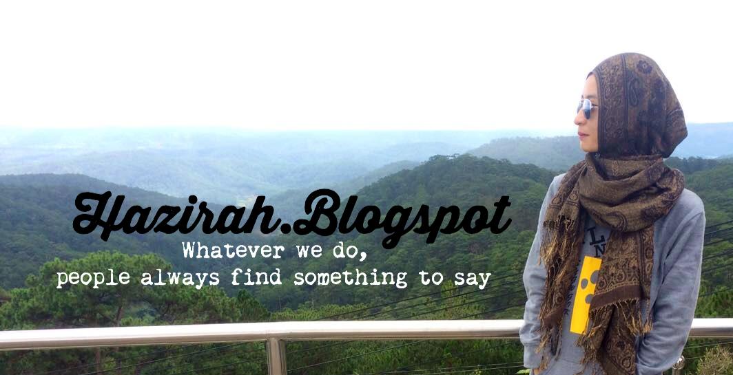 Hazirah.Blogspot