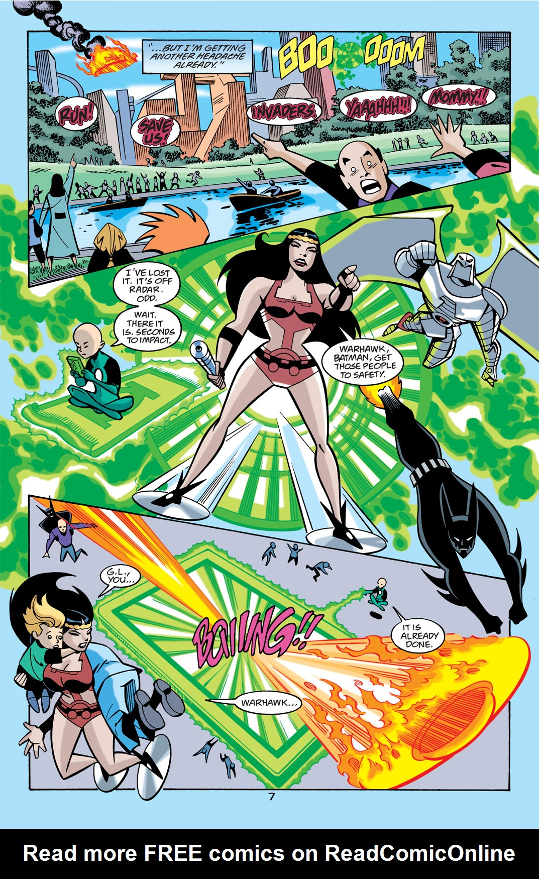 Batman Beyond [II] Issue #21 #21 - English 8