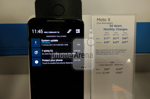 Motorola Moto X (2014) for AT&T receives Lollipop update