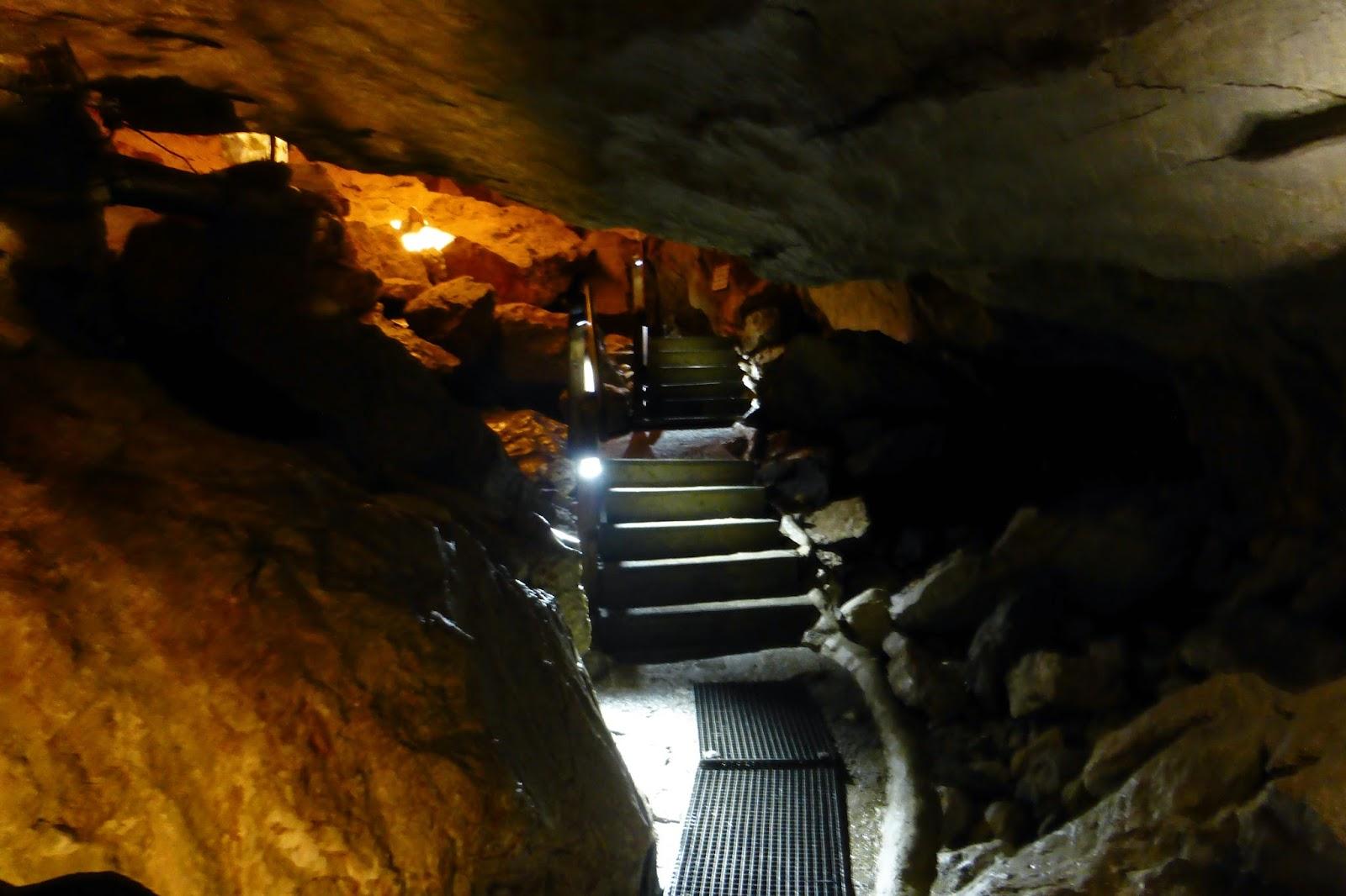 lamprechtshöhle innen