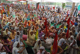 Selbrah Kissan agitation