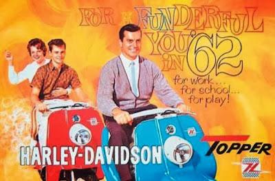 Unik, Scooter 60-an Produksi Harley Davidson
