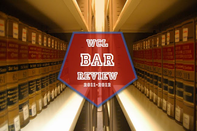 WCL Bar Review 2011-2012